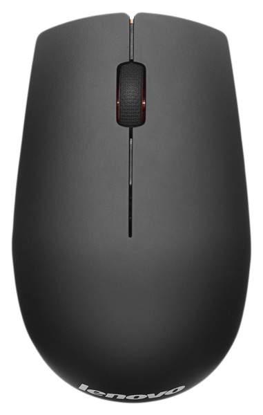 Беспроводная мышь Lenovo 500 Orange/Black (GX30H55791)