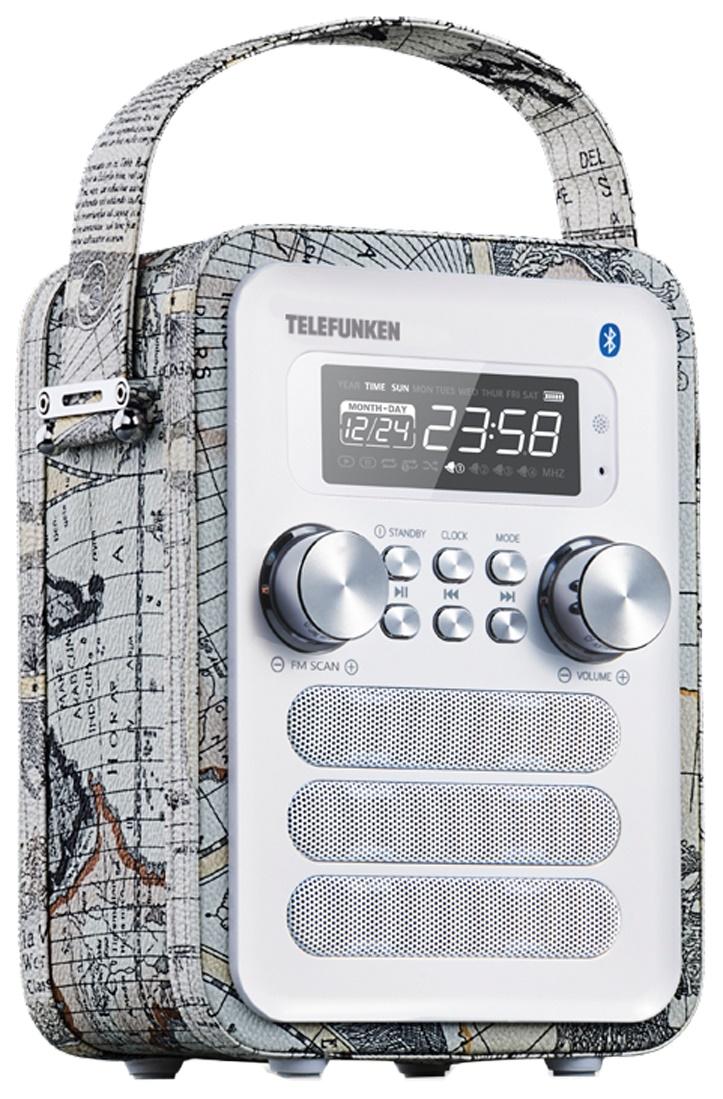 Радио-часы Telefunken TF-1580UB