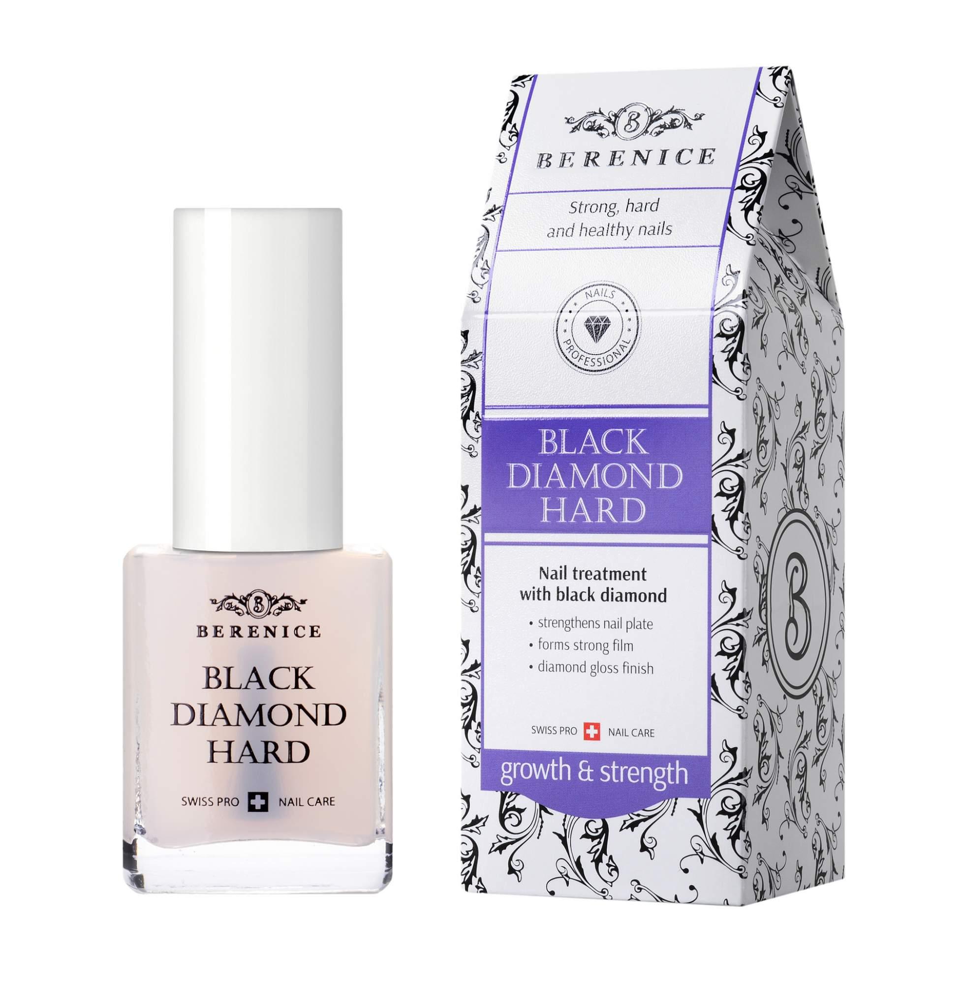 Средство для ухода за ногтями Berenice Black Diamond Hard 15 мл