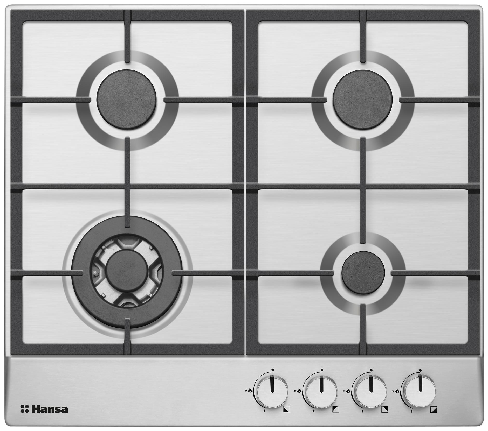 Встраиваемая варочная панель газовая Hansa BHGI61150 Silver