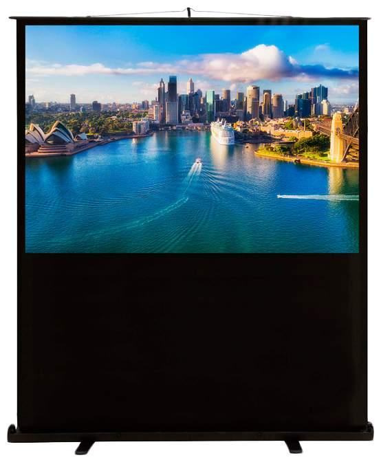 Экран для видеопроектора Cactus FloorCompactExpert CS-PSFLCE-160X120