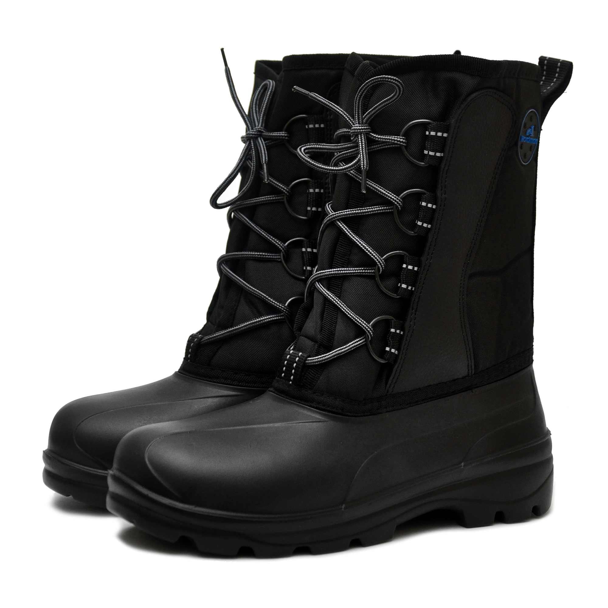 Ботинки для рыбалки Nordman Comfort ПЕ-11 СК8, черные, 46-47 RU