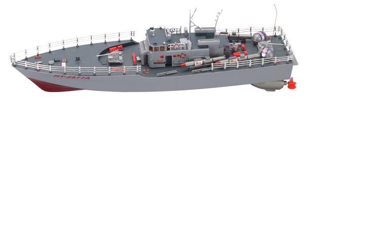 Радиоуправляемый катер Heng Tai Торпедный 2877
