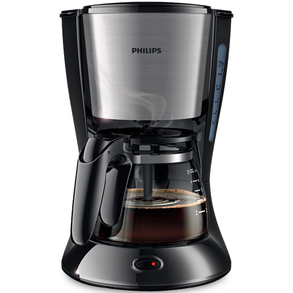 Кофеварка капельного типа Philips  HD7434/20 Black/Silver