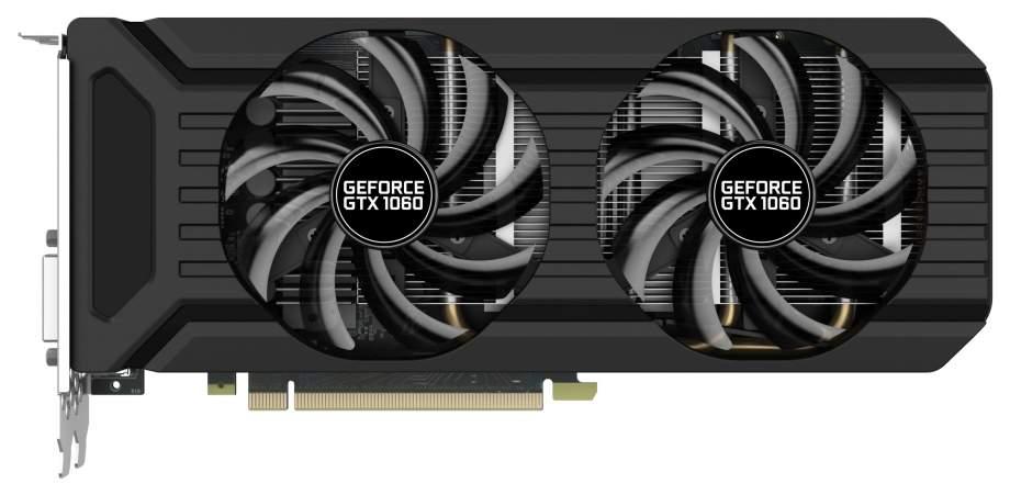 Видеокарта Palit nVidia GeForce GTX 1060 (PA-GTX1060 Dual 6G)