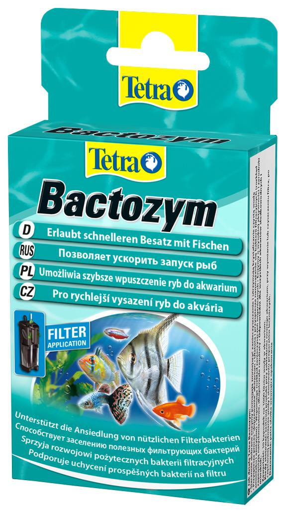 Средство для ухода за водой Tetra Bactozym 10 капсул 140257