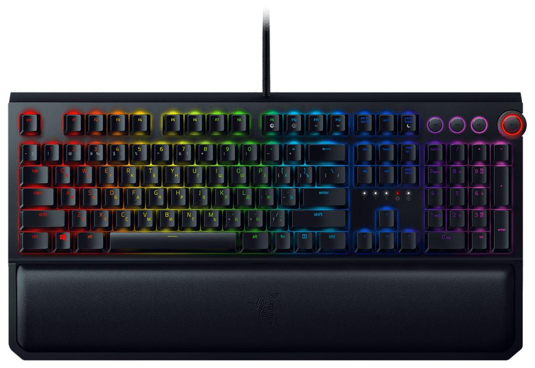 Игровая клавиатура Razer BlackWidow Elite Black (RZ03-02621100-R3R1)