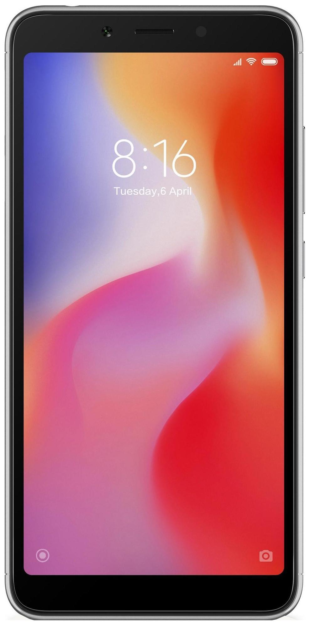 Смартфон Xiaomi Redmi 6 4/64Gb Black