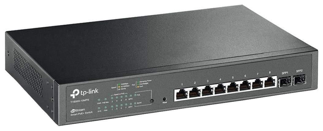 Коммутатор TP-LINK T1500G-10MPS Black