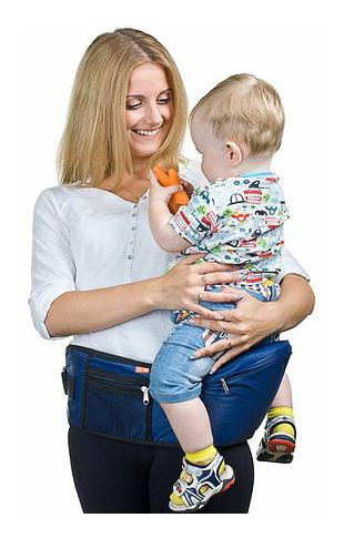 Пояс для ношения ребенка Чудо Чадо синий