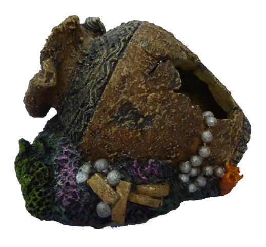 Грот для аквариума Кувшин с сокровищами
