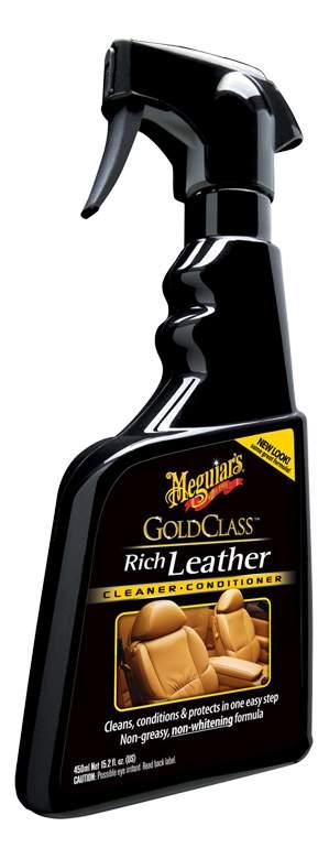 Очиститель и кондиционер для кожи Gold Class - триггер 450 мл G-10916
