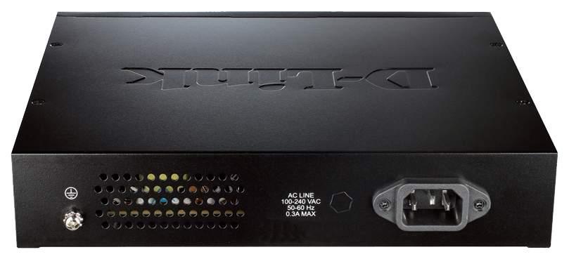 Коммутатор D-Link DES-3200-10 Серый, черный