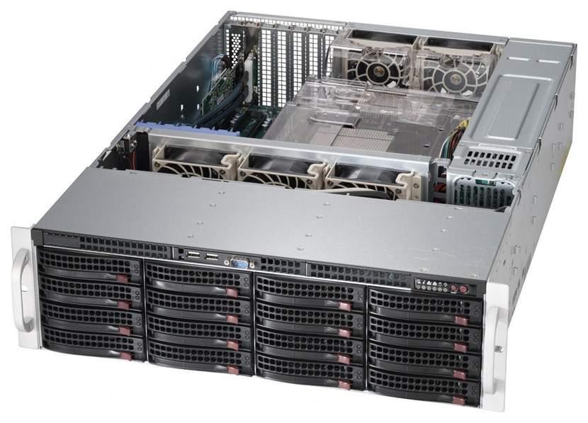 Серверная платформа Supermicro SSG-6038R-E1CR16H