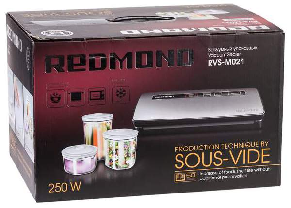Вакуумный упаковщик редмонд rvs m021 цена зеленый роллер для лица