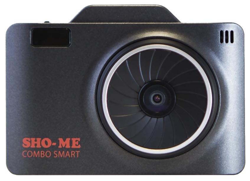 Видеорегистратор Sho-Me со встроенным радар-детектором, с GPS информатором