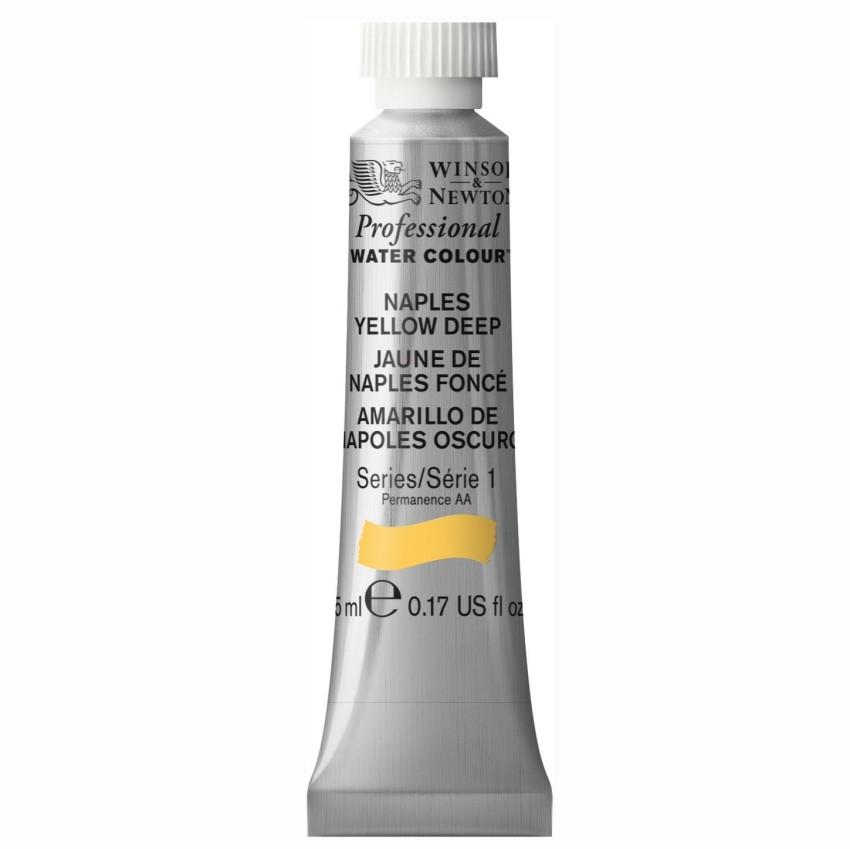 Акварель Winsor&Newton Artists Watercolour насыщенно-желтый неаполь 5 мл