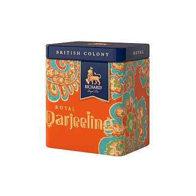 Чай Richard British Colony Royal Darjeeling
