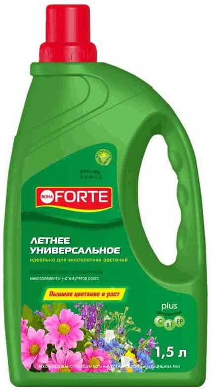 Удобрение Универсальное Летнее Bona Forte (канистра), 1,5 л
