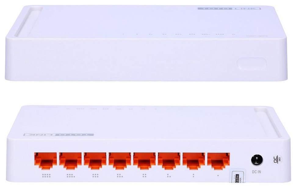 Коммутатор TOTOLINK S808G