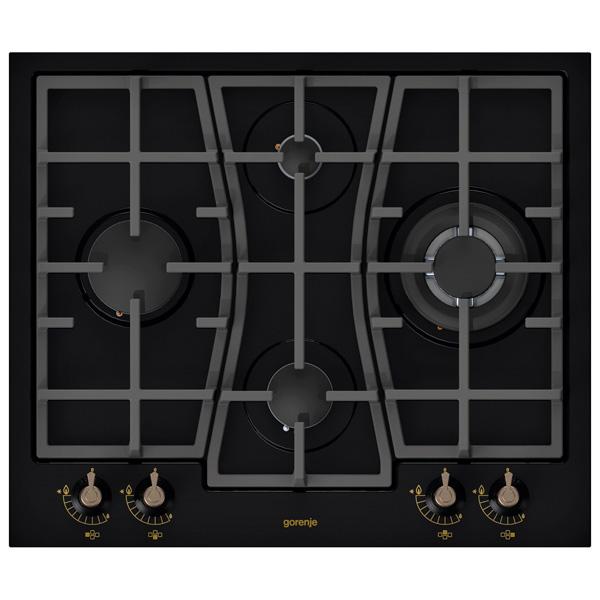 Встраиваемая варочная панель газовая Gorenje GW65CLB Black