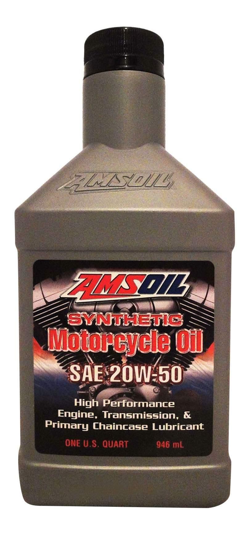 Моторное масло Amsoil Metric Motorcycle 20W-50 0,946л