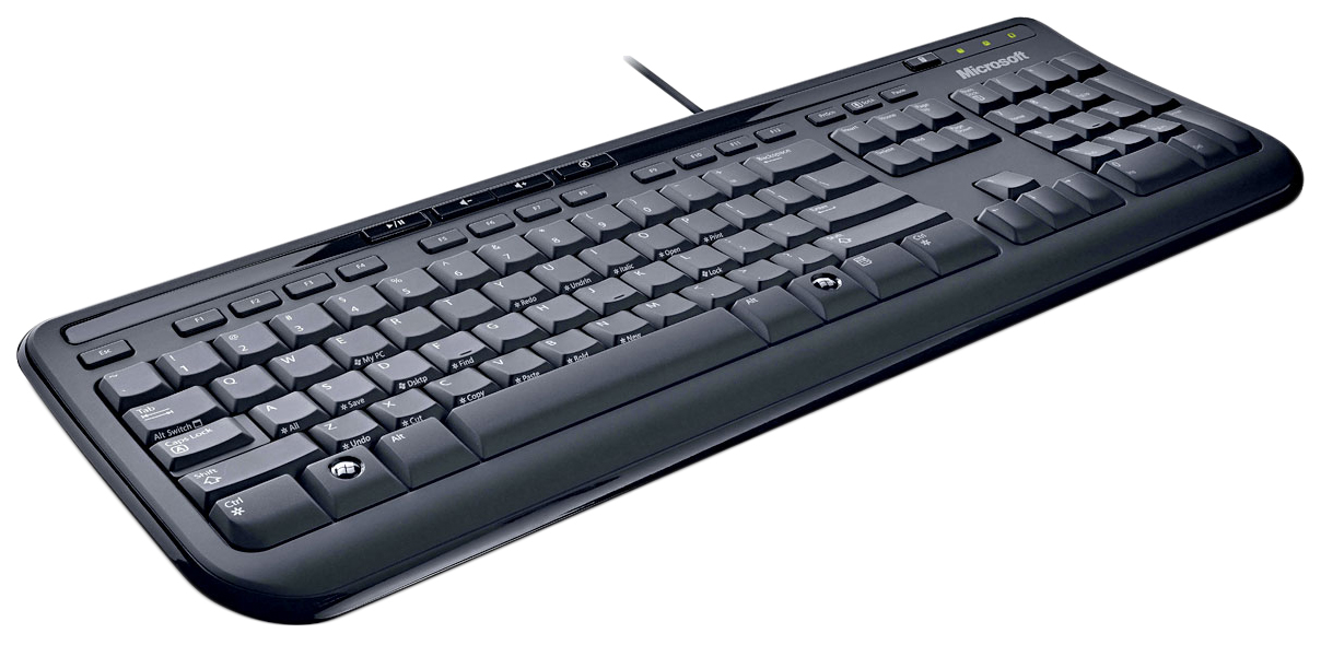 Клавиатура Microsoft WK-600 USB Black