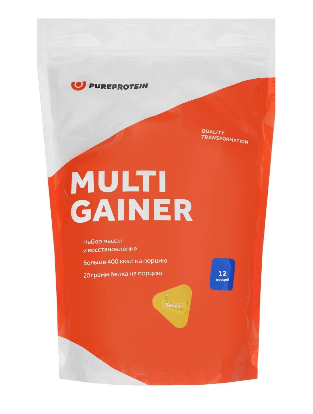 Гейнер PureProtein Multi Gainer 3000 г банан