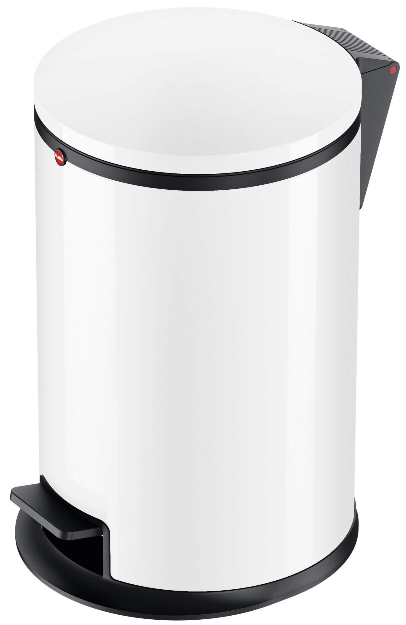 Мусорный контейнер Hailo Pure M 12л., белый, арт. 0517-030