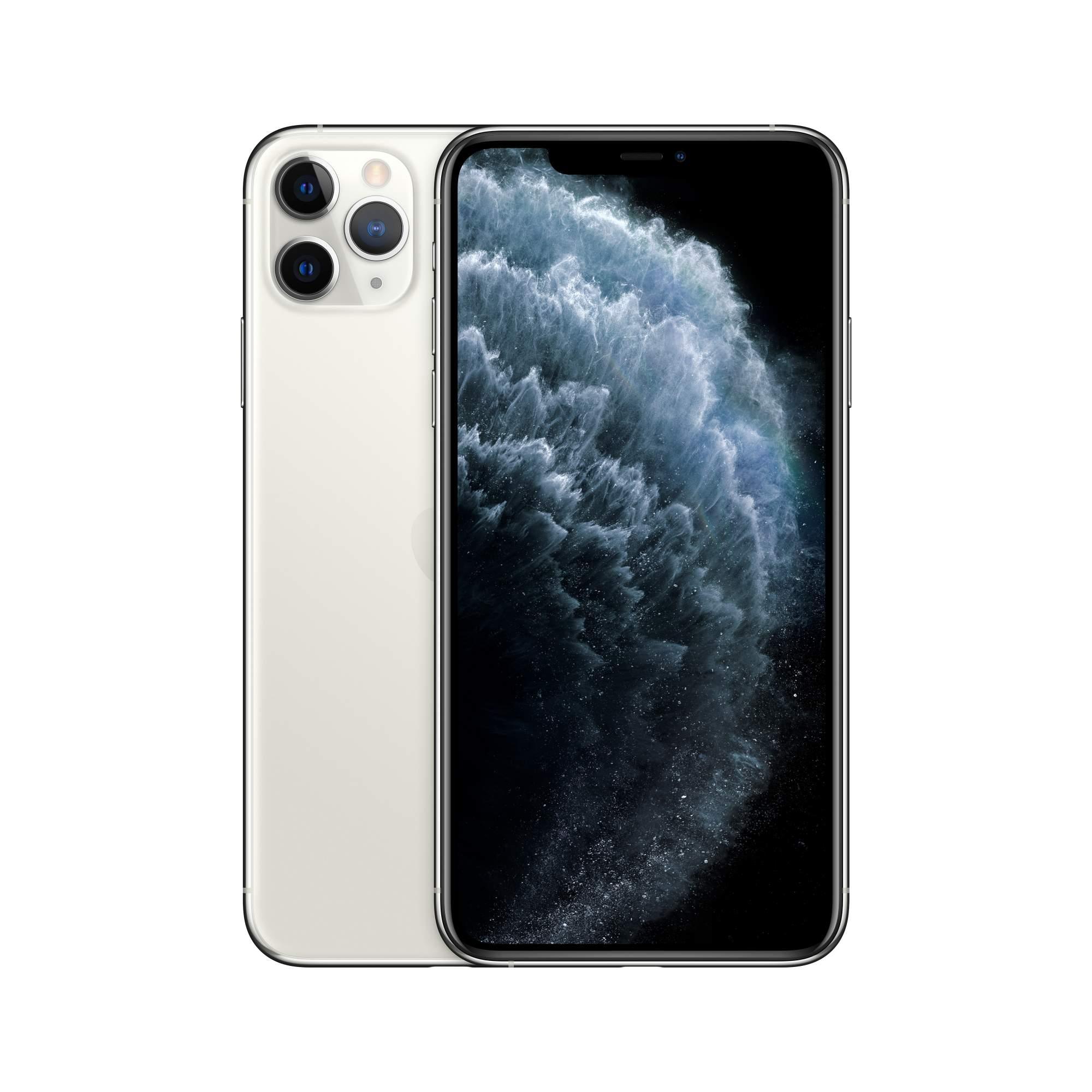 Смартфон Apple iPhone 11 Pro Max 64GB Silver (MWHF2RU/A)