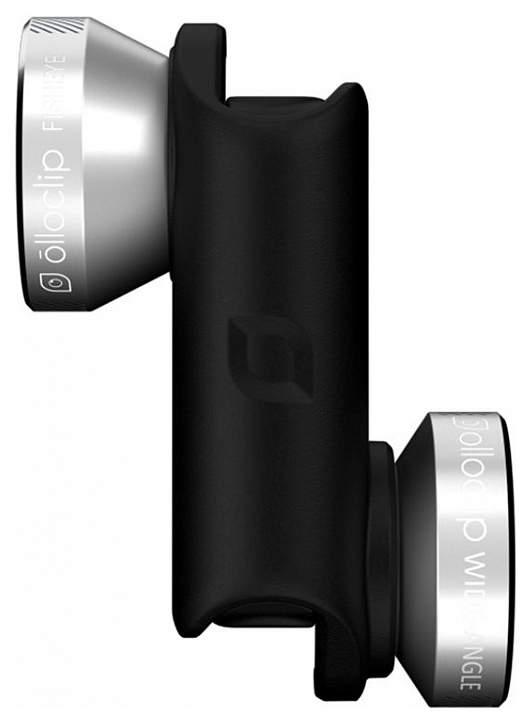 Объектив для смартфона Olloclip OCEA-IPH6-FW2M-SB/B для iPhone 6/6S/6/6S Plus Black/Silver