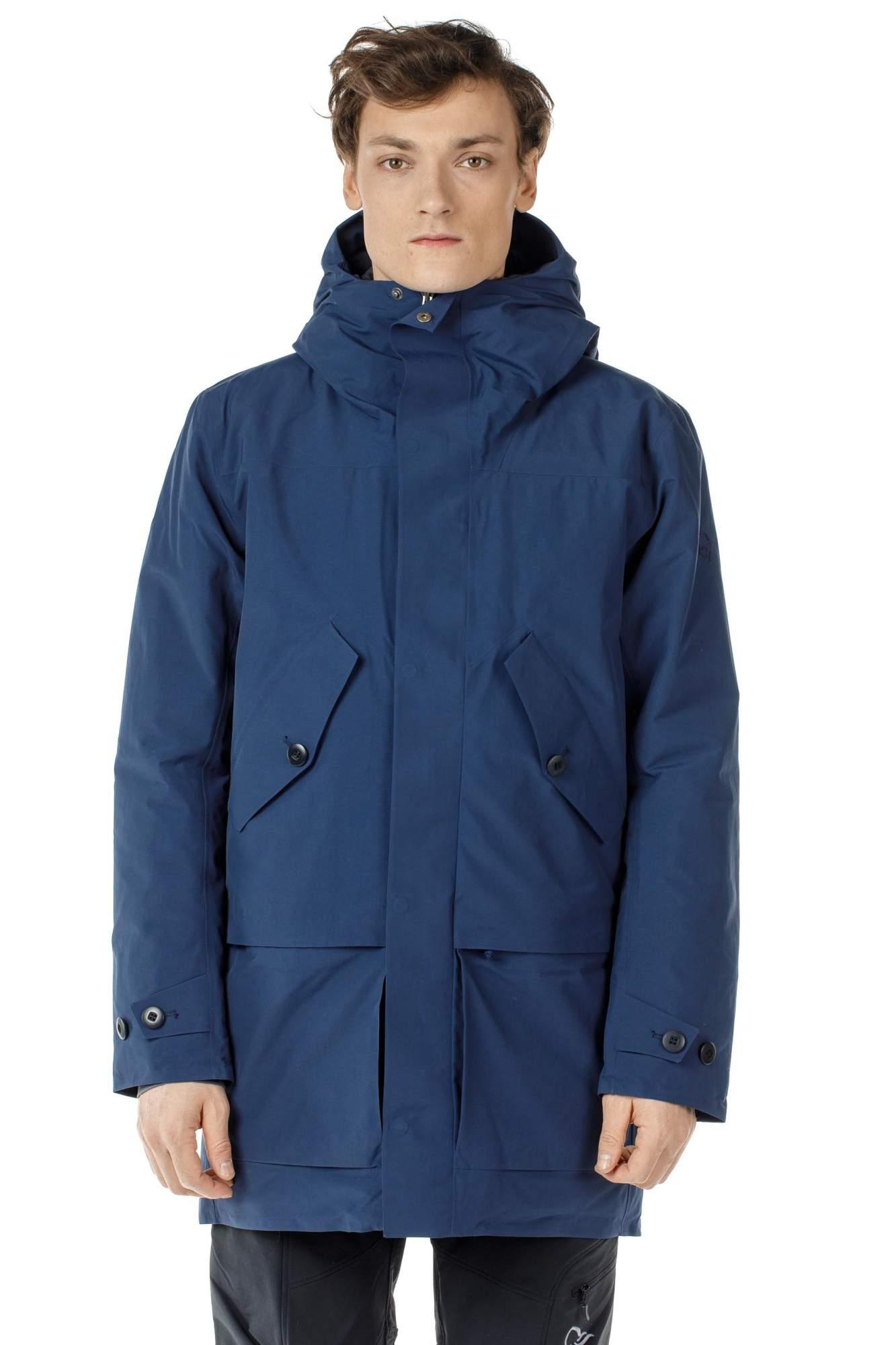 Куртка мужская Norrona Oslo Gore-Tex Insulated Parka, indigo night, S INT