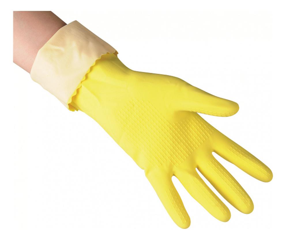 Перчатки для уборки Vileda Super Grip универсальные размер L