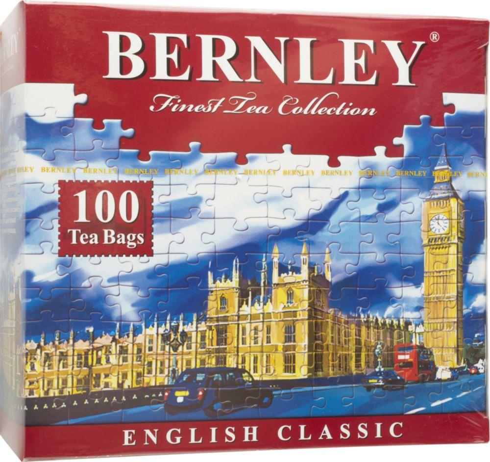 Чай черный Bernley english classic 100 пакетиков
