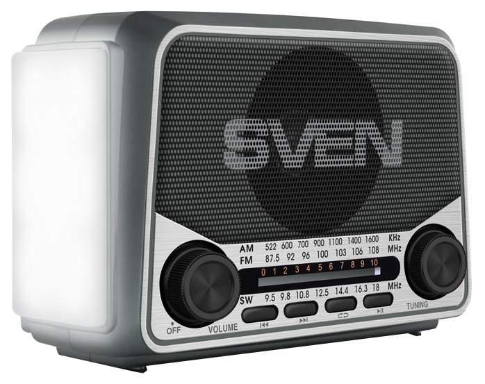 """Радиоприёмник Sven """"SRP-525"""" 3 Вт чёрный арт. SV-017156"""