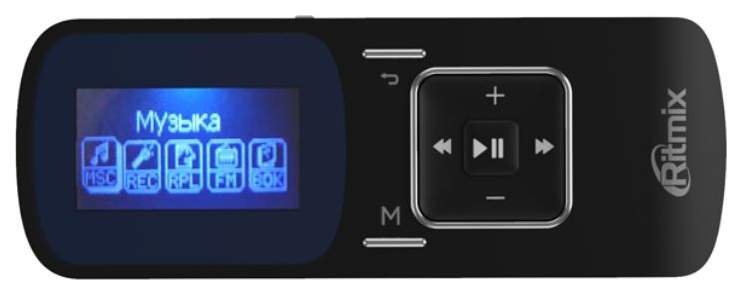 MP3-плеер Ritmix RF-3490 4GB Black