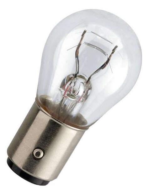 Лампа PHILIPS LongLife EcoVision 21W bAY15d 12499LLECOB2