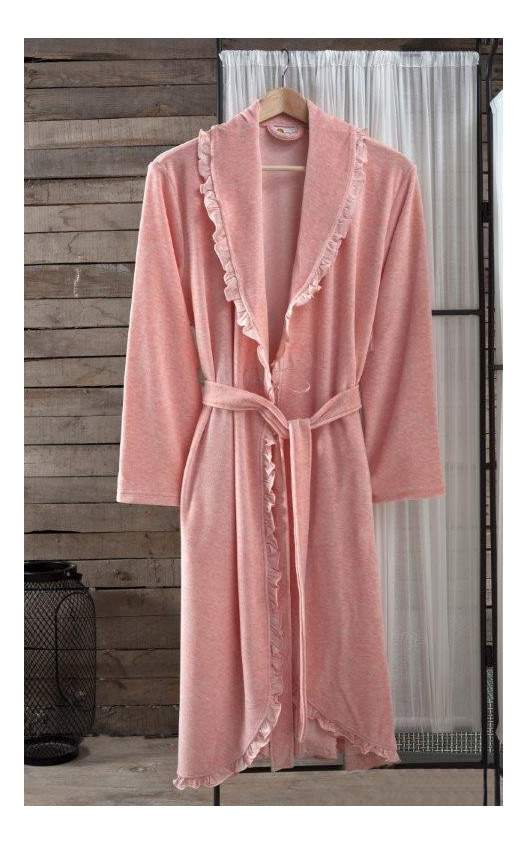 Халат банный Arya Frida розовый (S)