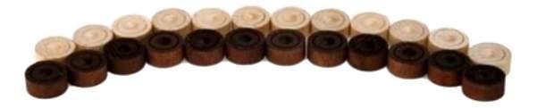 Шахматы настольная игра шашки Шахматы Шашки деревянные с доской D-2