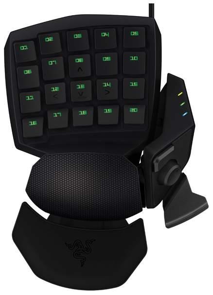 Игровая клавиатура Razer Orbweaver Chroma Black (RZ07-01440100-R3M1)