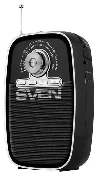 """Радиоприёмник Sven """"SRP-445"""" 3 Вт чёрный арт. SV-017118"""