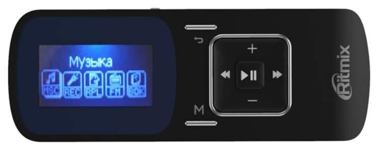MP3-плеер Ritmix RF-3490 8GB Black