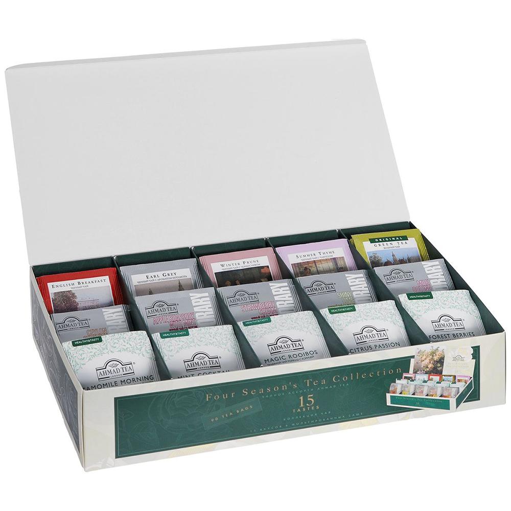 чай ахмад ассорти 90 пакетиков