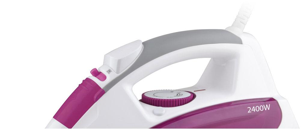 Утюг VITEK VT-1262 White/Pink