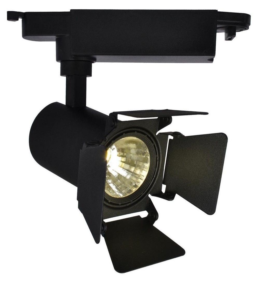 Трековый светодиодный светильник Arte Lamp Track Lights A6709PL-1BK