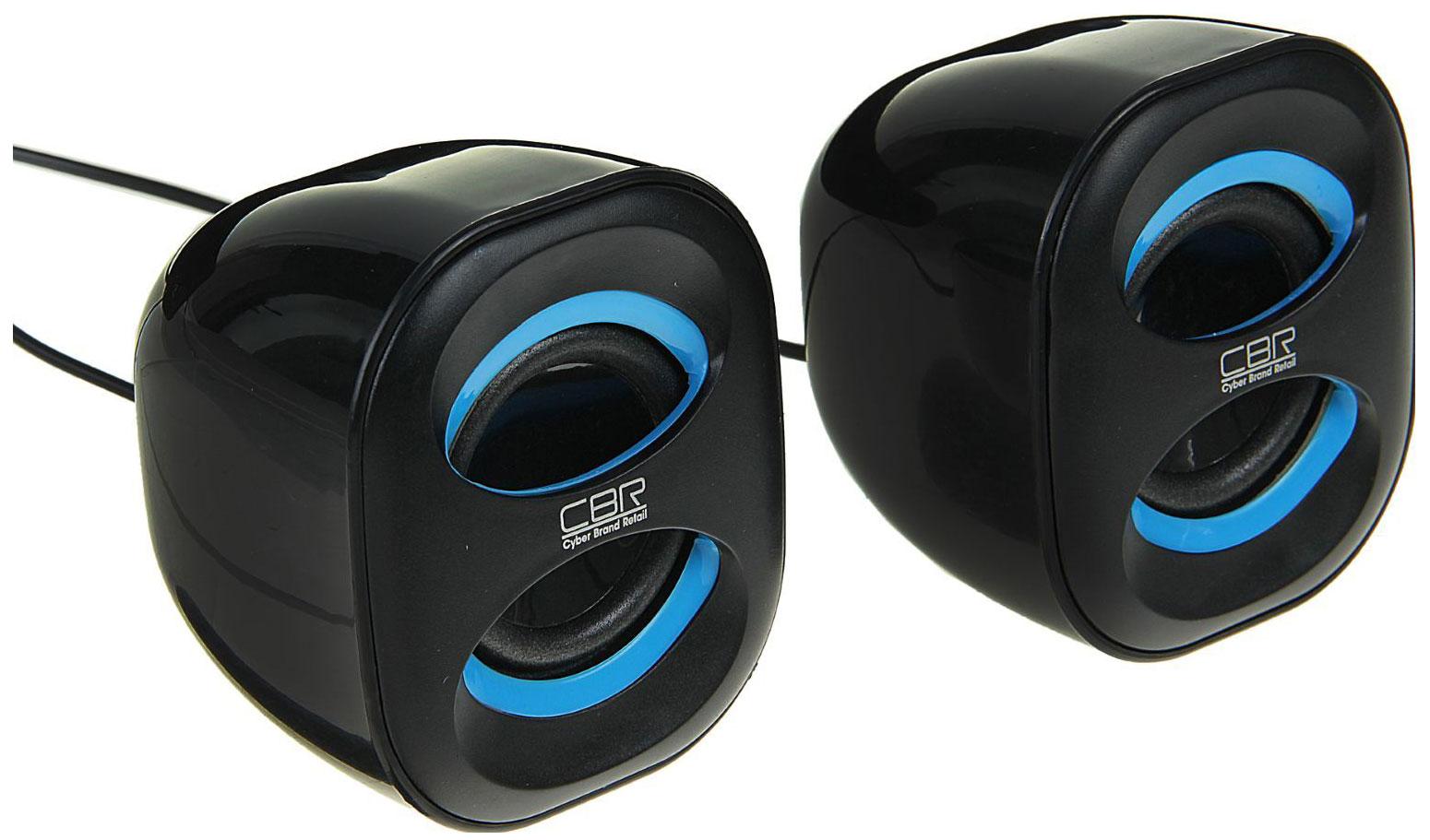 Колонки для компьютера CBR CMS 333 Синий/Black