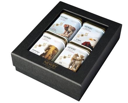 Подарочный набор чая Newby №4 дикая жизнь