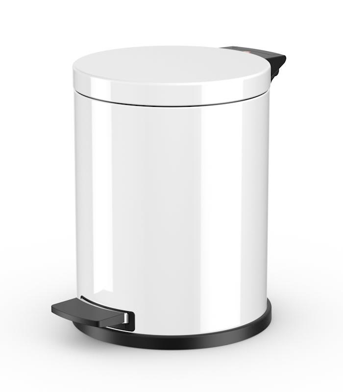 Мусорный контейнер  Hailo ProfiLine Solid M, 12л., Белый, арт. 0514-089