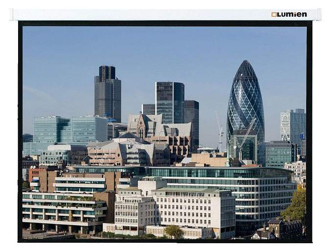 Экран для видеопроектора Lumien Master Control LMC-100129 Белый