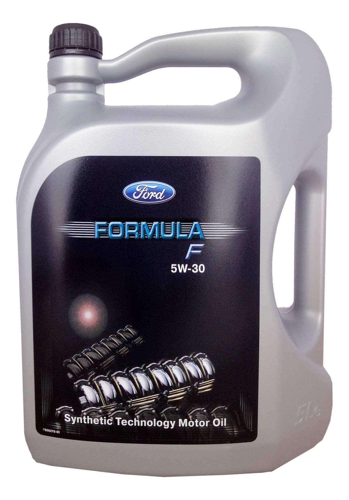Моторное масло Ford Formula F/Fuel Economy 5W-30 5л